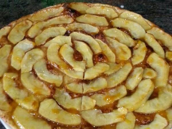 Hojaldre de manzana (fácil)