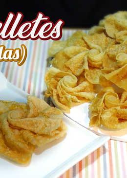 Hojuelas u Orelletes - Especial Semana Santa