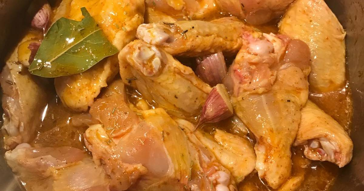 Alitas de pollo adobo 34 recetas caseras cookpad - Adobo de alitas de pollo ...