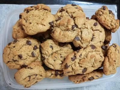 Cookies americanas integrales