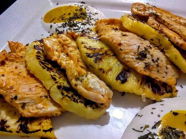 PECHUGA De Pollo a la Mostaza con Piña...!🍍