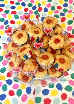 Muffins salados - con queso, bacon y tomatitos cherry🧀🥓🍅