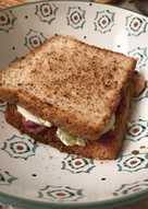 Sándwich de Pastrami estilo Nueva York