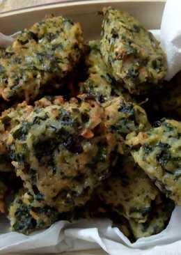 Croquetas rápidas de hojas de remolacha y arroz