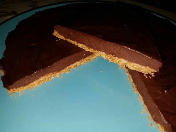 Tarta de chocolate súper fácil 🍫🍫😋😋