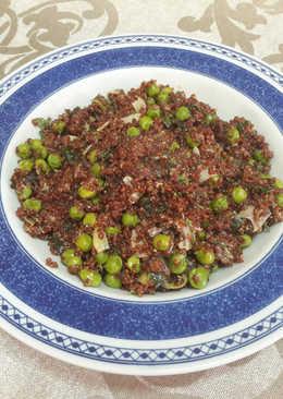"""""""Quinoa y guisantes al estilo hindú"""" veganos"""