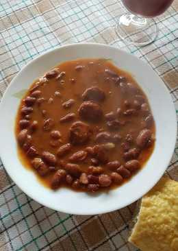 Potaje 248 recetas caseras cookpad - Alubias rojas con costilla ...