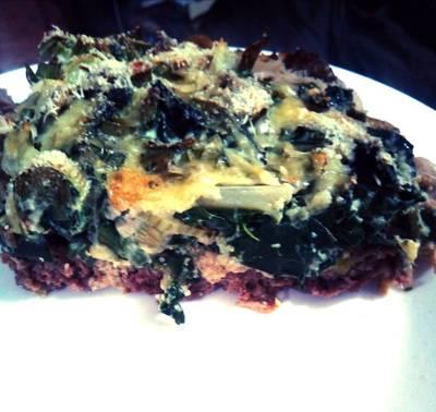 Keto: Meat-ché de Acelga y champiñones