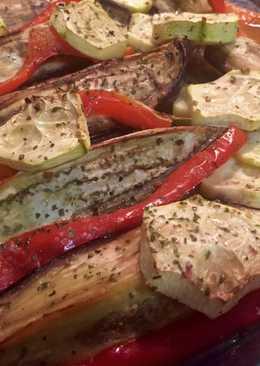 Verduras al horno light fáciles y rápidas