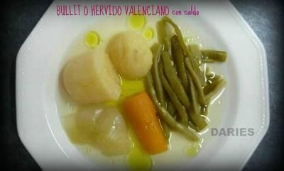 Bullit o Hervido valenciano