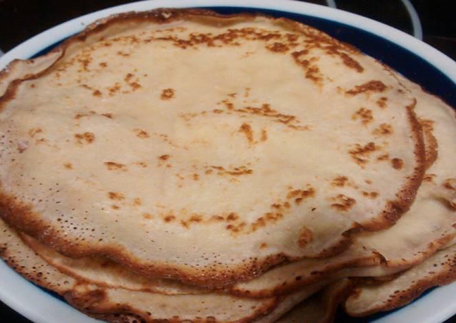 Masa cl sica para crepes receta de norali cookpad - Como hacer masa de crepes ...