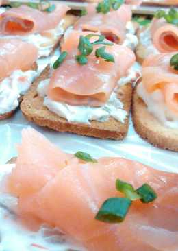 Recetas de canap s f ciles 460 recetas cookpad for Canape de salmon ahumado