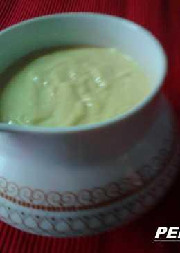 Salsa Ali Oli de pimientos asados con ajos refritos