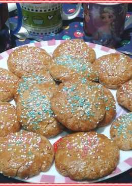 Cookies con chocolate blanco