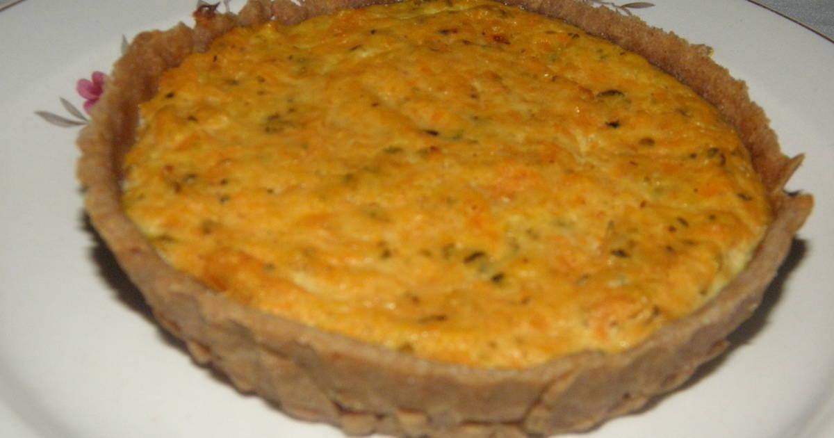 Tarta de calabaza bajo colesterol Receta de graciela