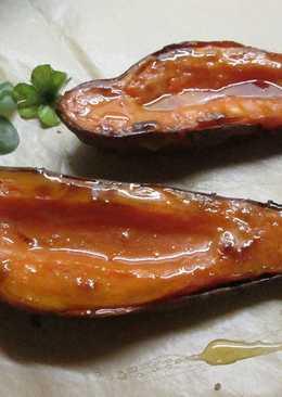 Camotes dulces al horno