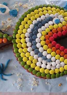 Tarta pececito de colores