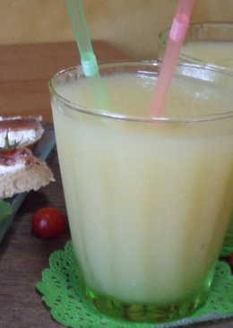 Cóctel de melón con vodka