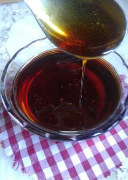 Caramelo líquido o salsa de caramelo