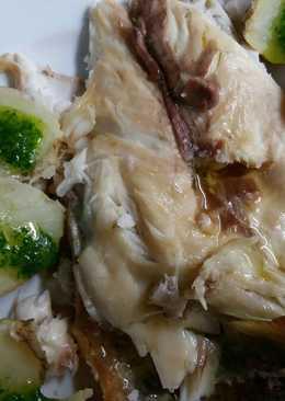 Dorada a la sal con patatas arrugadas
