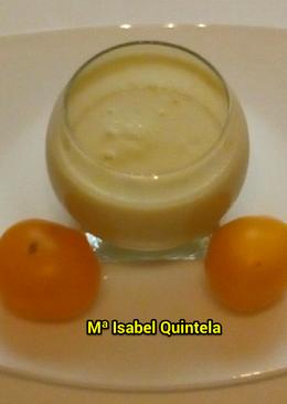 Gazpacho de tomate amarillo en thermomix