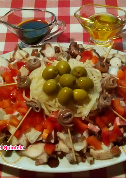 Ensalada de pulpo light