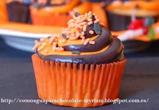 Cupcakes de calabaza