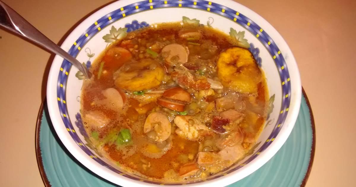 Lentejas receta de angelmon cookpad - Lentejas con costillas y patatas ...