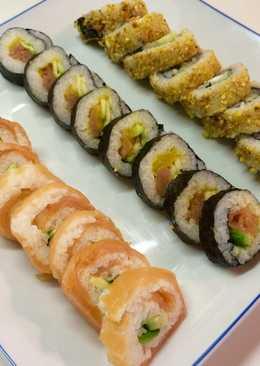 recetas de sushi california
