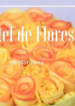 Pastel de Flores de Manzana