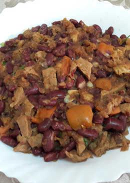 """🇺🇸""""Chili con carne tejano"""" vegano"""