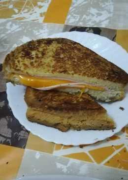 Tostadas francesa con pan de molde casero