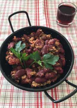 Chile con carne, una receta apta para diabéticos. Ideal para días de frío y muy sencilla de realizar