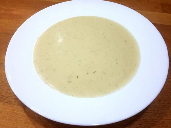 Crema de patata y ajo