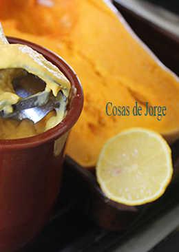 Mayonesa de calabaza al limón
