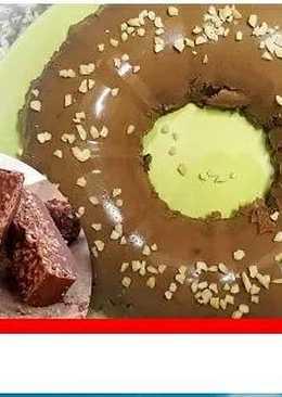 Flan de Turrón de Chocolate Sin gluten