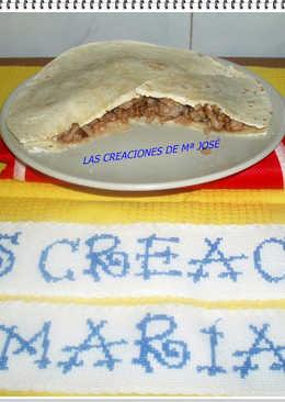 Tortillas mexicanas de carne