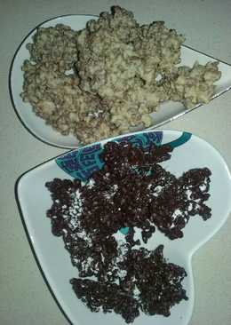 Bombones de chocolate y cereales