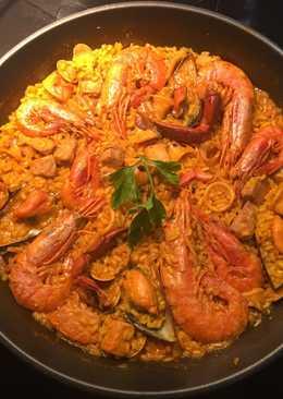 Paella de marisco 🦐