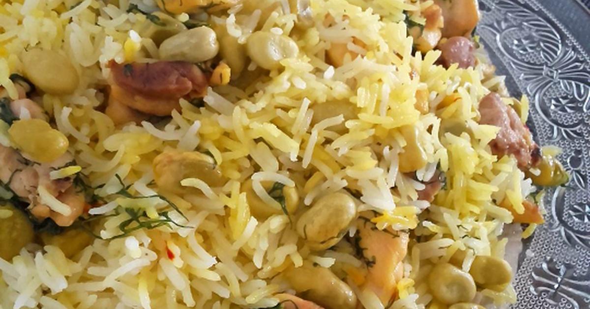 Arroz con habas 76 recetas caseras cookpad - Arroz con pescado y verduras ...