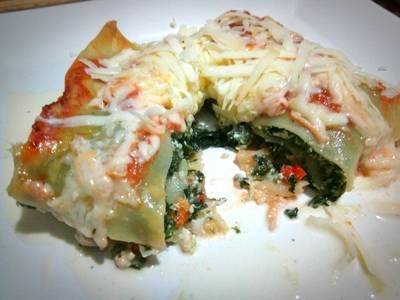 Lasagna de verdura súper fácil