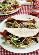 Tacos Vegetarianos a la Brizu