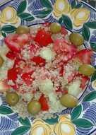 Ensalada de verano con quinoa