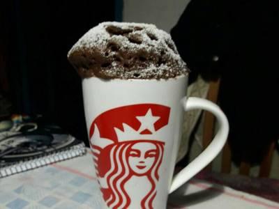 Mug Cake de chocolate en microondas! 😁