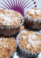 "Muffins de banana saludables ""Sin harina, sin azúcar ni materia grasa"""