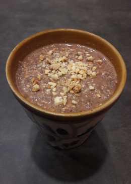 Chía pudding de avellana y cacao