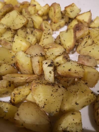 Patatas al horno fáciles y rápidas 🍟🥔