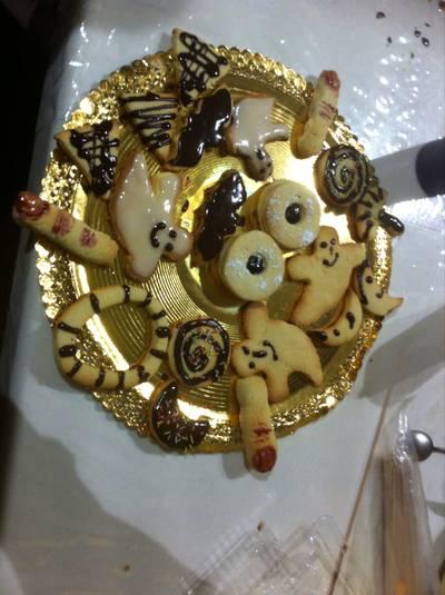 Galletas de mantequilla de Halloween