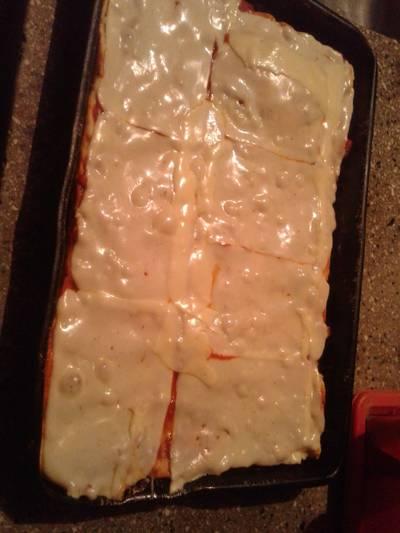 Pizza casera 💕