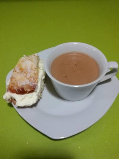Chocolate a la taza con thermomix
